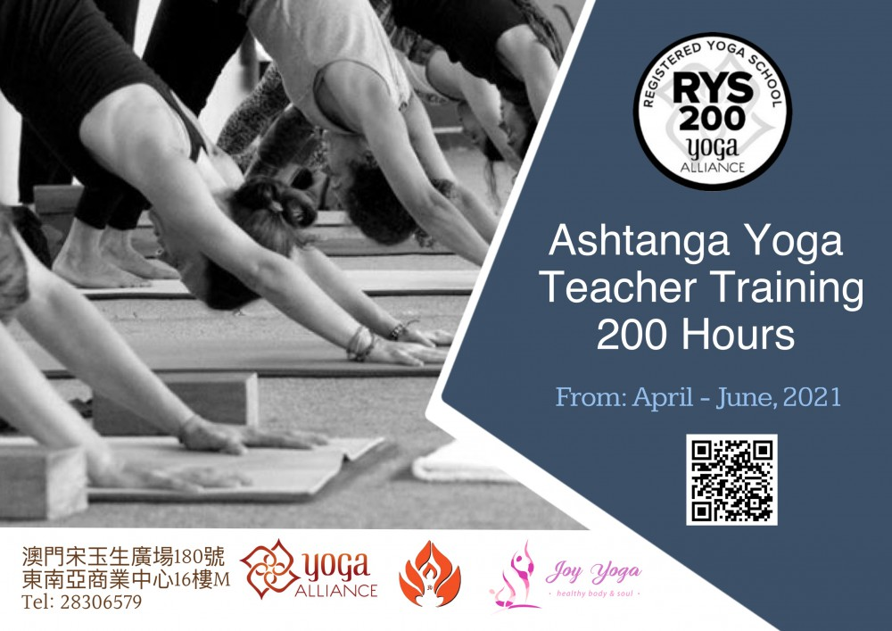 Ashtanga Vinyasa Teacher Training 200 Hours